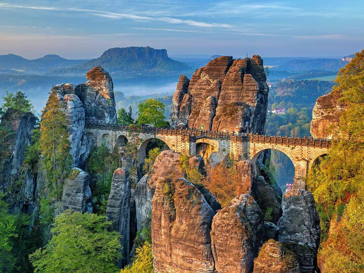 Ausflugsziele - Basteibrücke