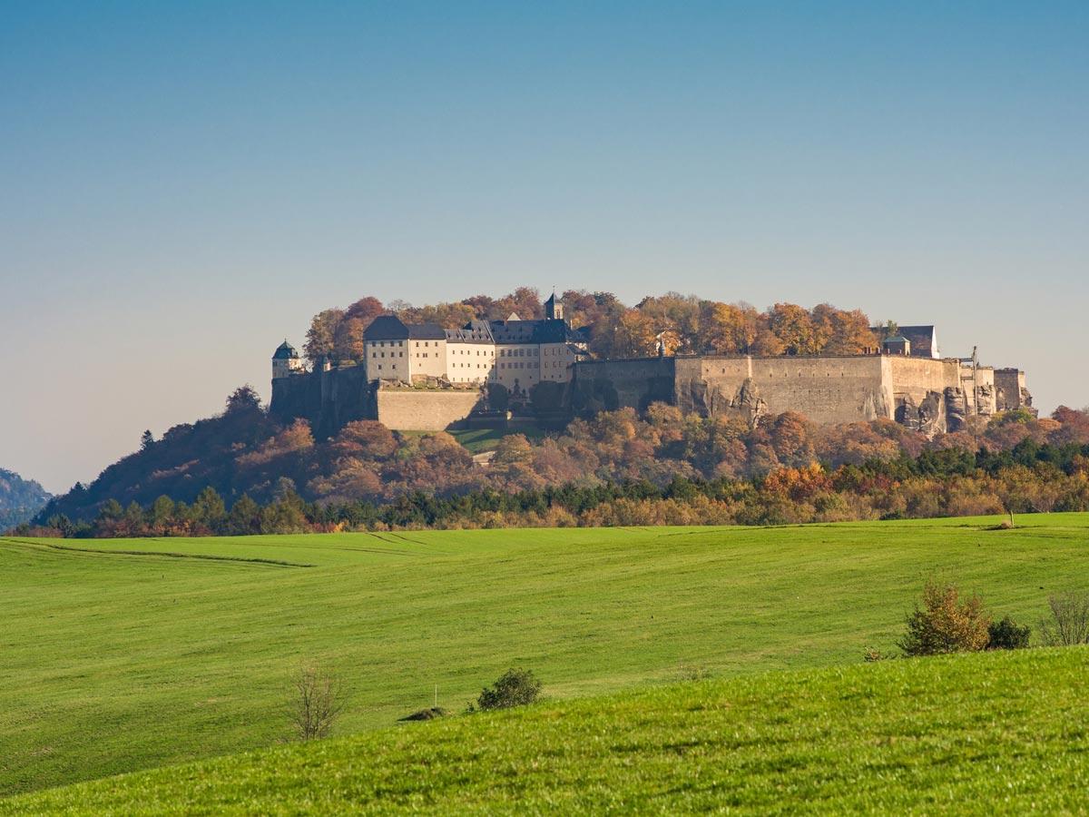 Ausflugsziele - Festung Königstein
