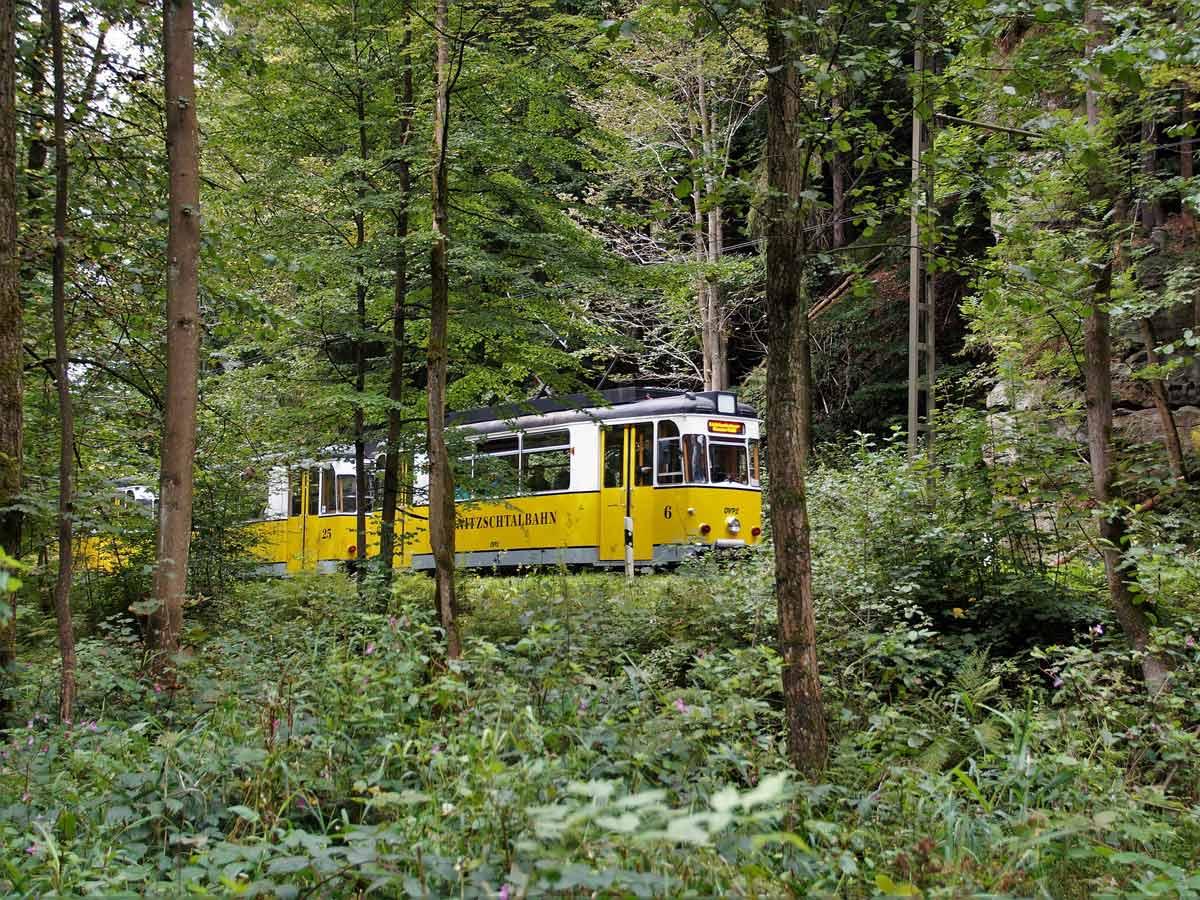 Ausflugsziele - Kirnitzschtalbahn