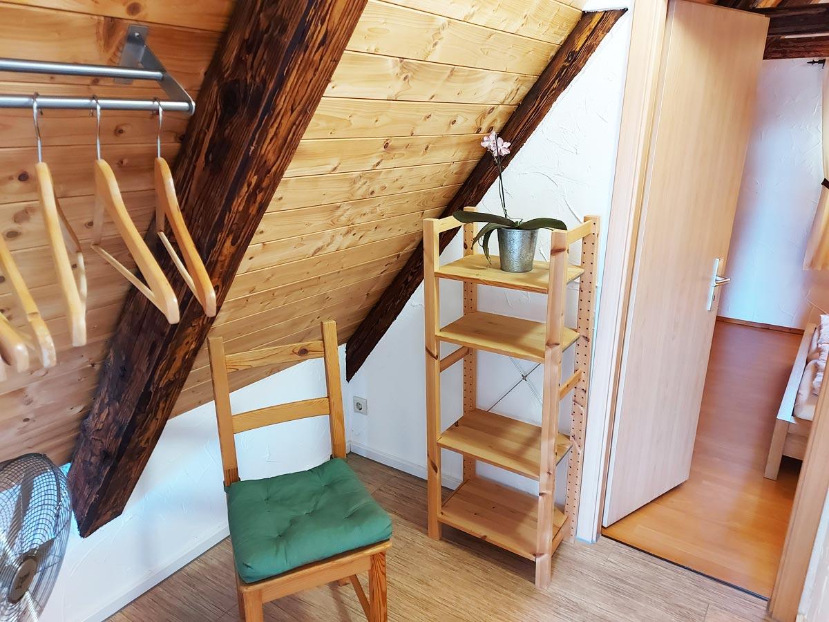 Ferienhaus Schrammsteinblick - Ferienwohnung3 - Flur mit Garderobe