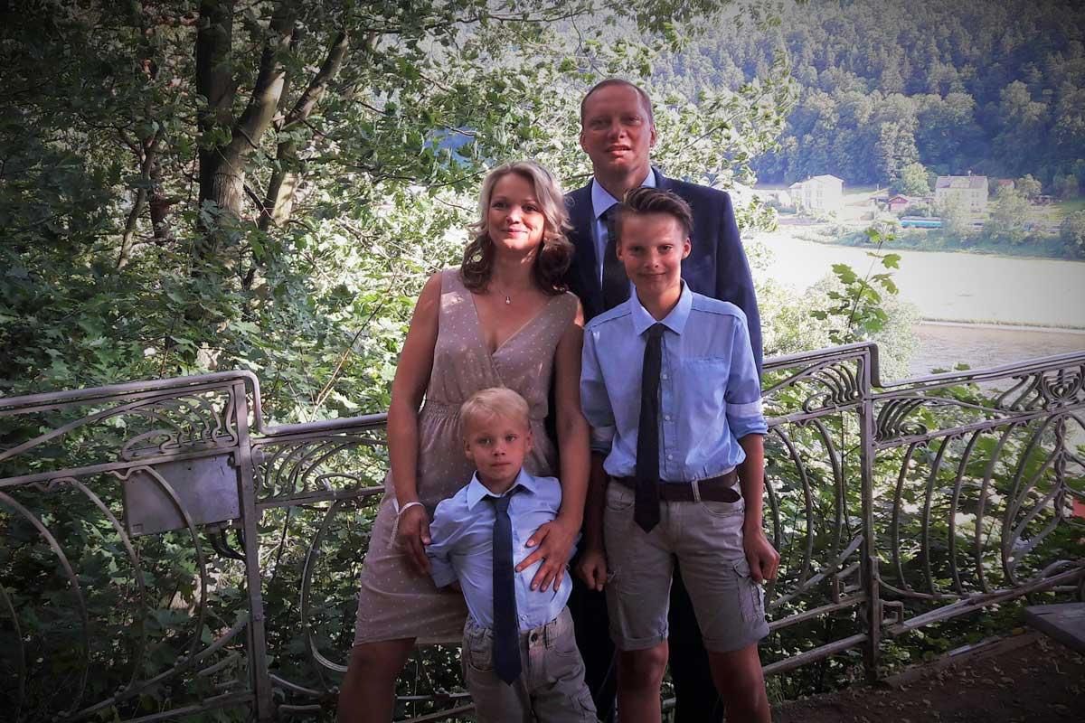 Ihre Gastgeberfamilie Hupfer